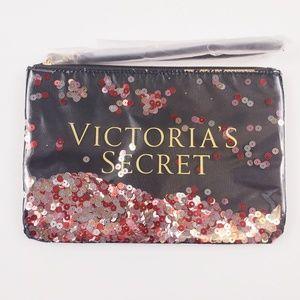 NIB Victoria's Secret Bling Sequin Mini Bag Set